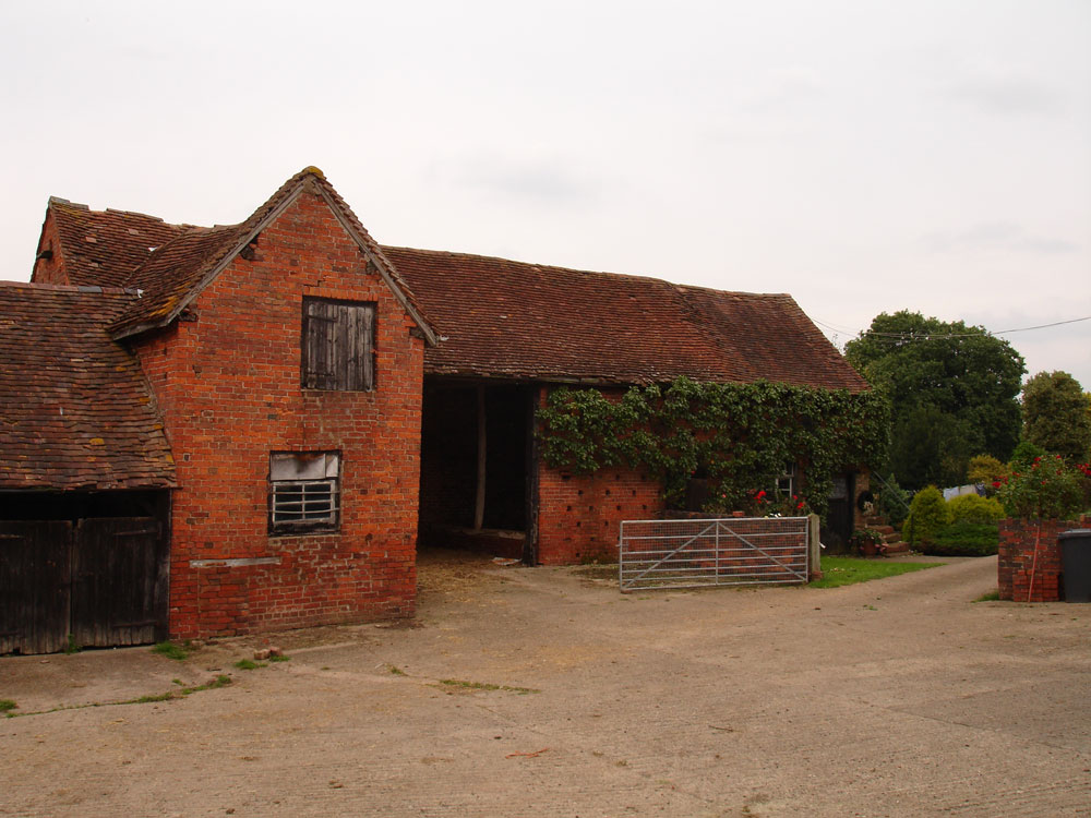 Haye Farm sleeping barn before conversion